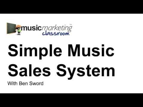 sell music online with paypal
