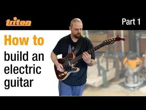 Part 1 - Build an electric guitar with Crimson Guitars