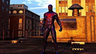 Spider-man (ps4) - Future 2099 Black Suit Gameplay (futuristic Spider-man Costume)