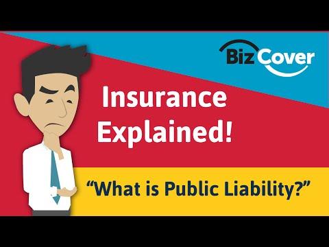What is Public Liability?