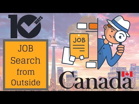 10 ways to Find Jobs in Canada from your home country  (Express Entry 2018)