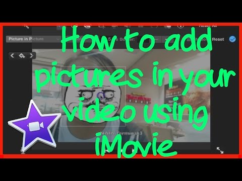 (EASIEST) How to Add Pictures In Videos Using iMovie
