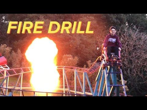 Backyard Roller Coaster -  Fire Drill