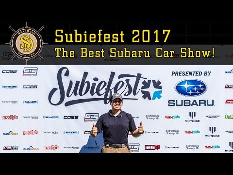 Subiefest 2017 - Best Subaru Carshow of the Year!