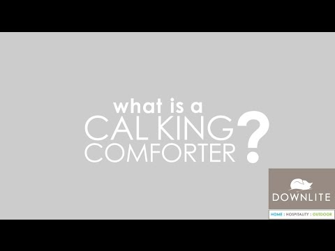 What Is A Cal King Comforter?
