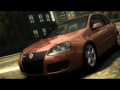 Need For Speed: Most Wanted - Volkswagen Golf GTi - Test Drive Gameplay (HD) [1080p60FPS]