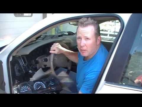 Buick Lesabre Instrument Cluster Removal Procedure