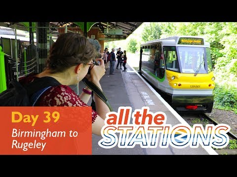"""It's The Cutest Train I've Ever Seen!"" - Episode 23, Day 39 - Birmingham to Rugeley"