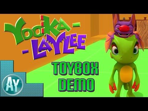 Yooka-Laylee Toybox Demo - 100% Playthrough