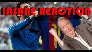 Ray Hudsons insane reaction to all goals in El Clásico 2017