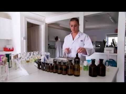 How they make perfumes on TV show 'Making Stuff'