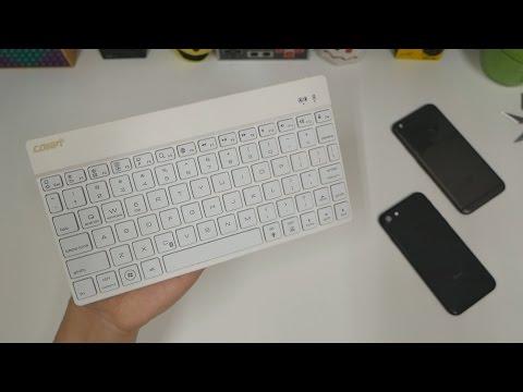 Collen: 7 Color Backlit Wireless Keyboard