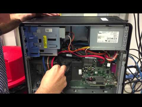 Installing a second drive into a Optiplex 780 pc