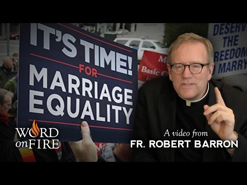 Xxx Mp4 Bishop Barron On Gay Marriage Amp The Breakdown Of Moral Argument 3gp Sex