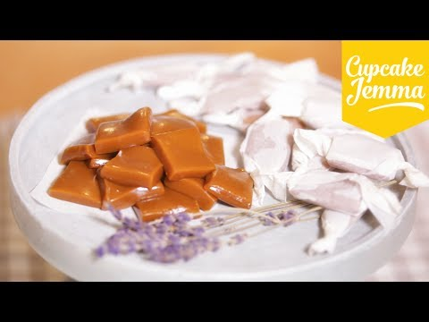 How to make Lavender Caramels | Cupcake Jemma