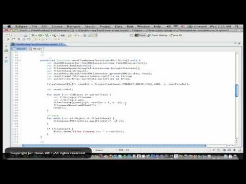 Programmatically Generating Tests for FlexMonkey Reloaded