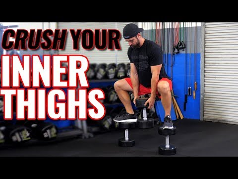 TOP 6 Inner Thigh Exercises for MEN (Thicker Legs in 30 Days!)