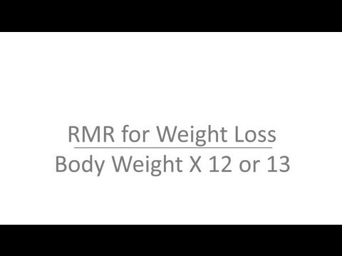 How to Calculate Resting Metabolic Rate : Stay Fit