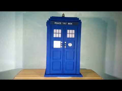 TARDIS Inspired Humidor