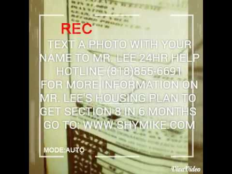 GET SECTION 8 IN 6 MONTHS MR. LEE'S HOUSING PLAN