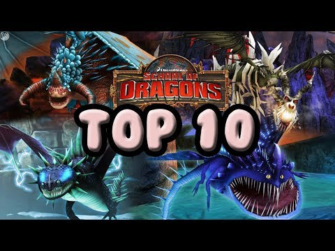 MY TOP 10 FAVOURITE TITAN DRAGONS! School of Dragons