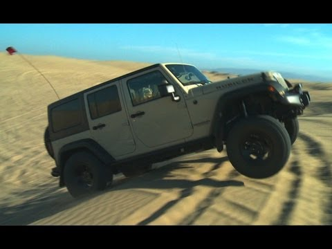 Sand Crawling in a Jeep Wrangler Rubicon! - Wide Open Throttle Episode 33