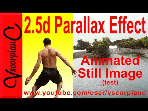 2.5d Parallax Effect Still Photo Animation by VscorpianC