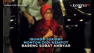 Ibunda Jokowi Nonton Konser Didi Kempot Bareng Sobat Ambyar