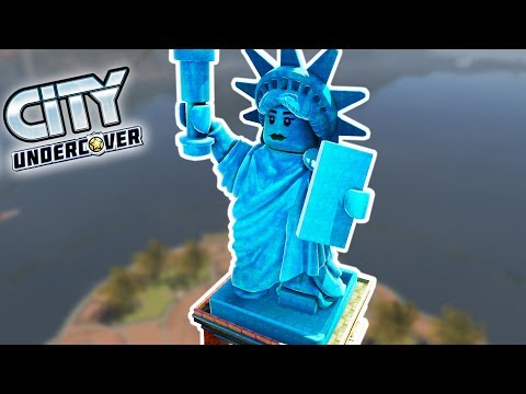 LEGO LIBERTY ISLAND! | Lego City Undercover HD Gameplay - 100% Part 4 (Kid Friendly Gaming!)