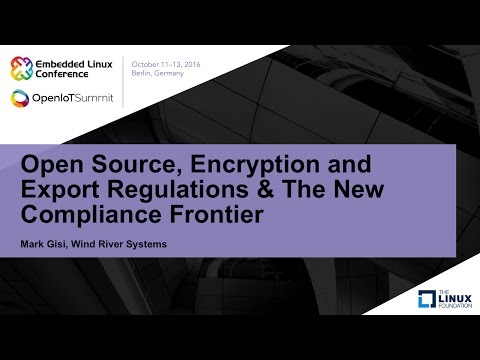 Open Source, Encryption and Export Regulations & The New Compliance Frontier