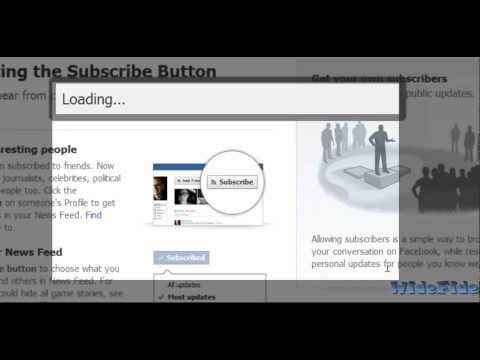 How to Enable Subscribers on Facebook Profile