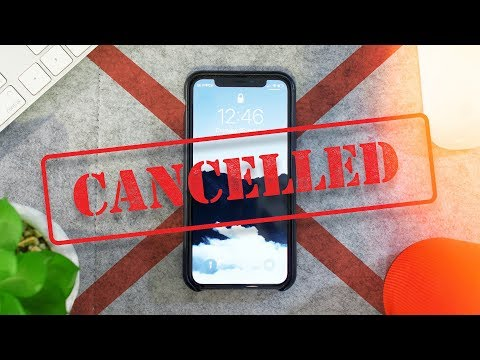iPhone X cancelled?!?