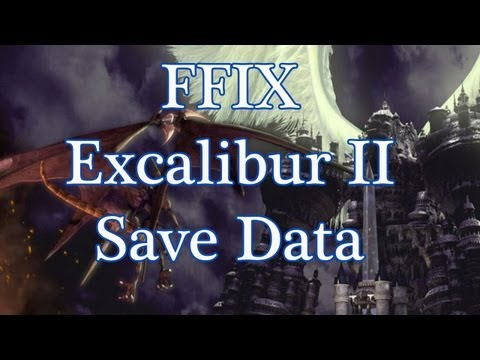 Final Fantasy IX My Excalibur II Save Data
