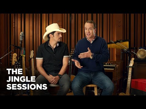 """""""Peyton Manning and Brad Paisley"""" FULL INTERVIEW Commercial  