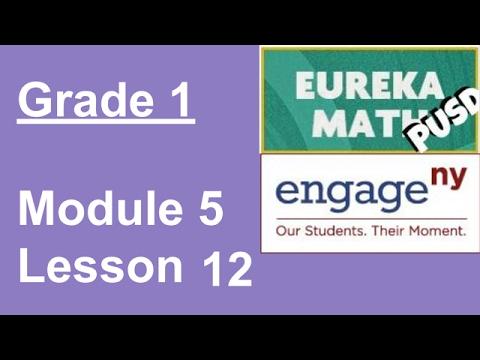 Eureka Math Grade 1 Module 5 Lesson 12
