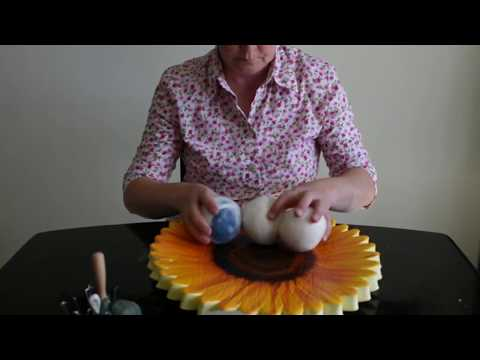 Tutorial on making felted wool balls for hat blocking and other uses