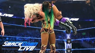 Naomi vs. Alexa Bliss — SmackDown Women