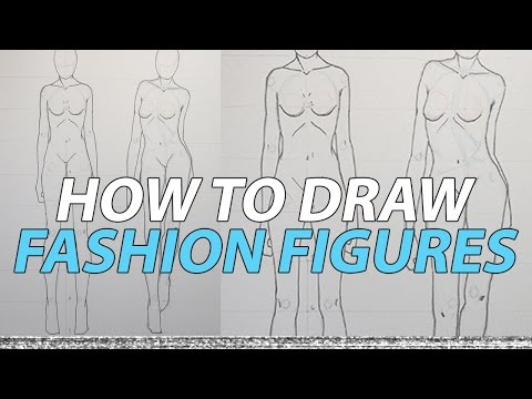 Fashion Figure Drawing Tutorial