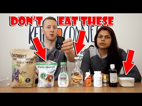Ultimate Guide to Low Carb Sweeteners | Blood Testing | Be Sure to Avoid These 3!!