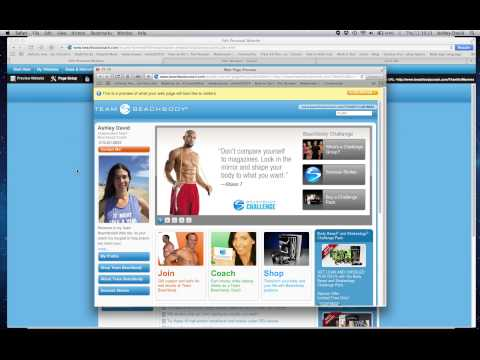 How to set up your Beachbody websites screen recording