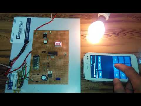 SPEED CONTROL OF AC INDUCTION MOTOR USING ANDROID