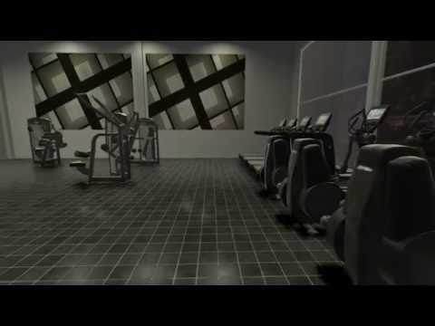 Fitness center video