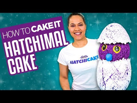 How To Make a HATCHIMAL CAKE | With Vanilla and Chocolate Cake| Yolanda Gampp | How To Cake It