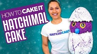 How To Make a HATCHIMAL CAKE | With Vanilla and Chocolate Cake| Yolanda Gampp | How To Cake It