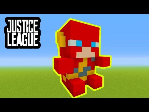 Minecraft Tutorial: How To Make A Flash Plush Statue