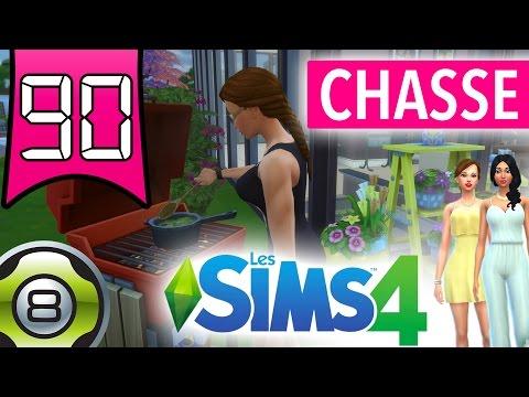 On part à la chasse aux insectes - Ep.90 - Les Princesses - Les Sims 4 FR
