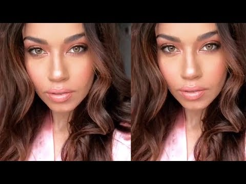 Glamcation with Maybelline | Peachy Nude Makeup + Photo Shoot | Eman