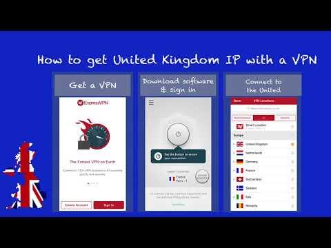 Get British IP Address