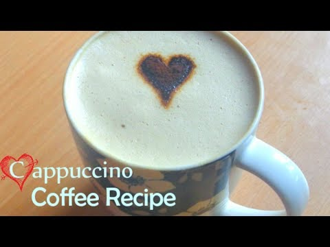 How To Make A Perfect Cappuccino At Home|Cafe Style COFFEE Cappuccino Recipe With out Coffee Maker|