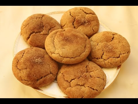 Snickerdoodle cookies. Thick, soft, chewy and cinnamony cookies (American)